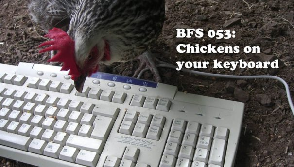 BFS 053: Chickens on your keyboard