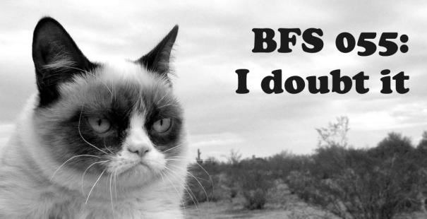 BFS 055: I doubt it